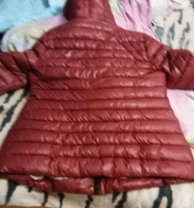Куртка зима теплая.