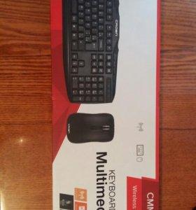 Клавиатура, мышка беспроводная