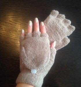 Новые Перчатки-варежки