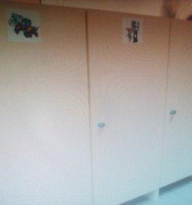 Шкафчики детские
