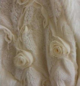 Платье+меховая накидка