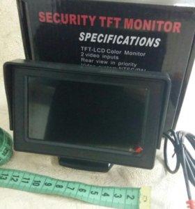 Автомобильный монитор для камер заднего вида