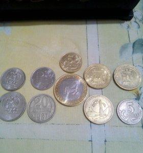 Продам 10 монет