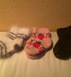 Шерстяные носки р.11см