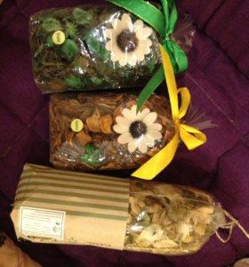 Декоративные ароматизированные лепестки саше