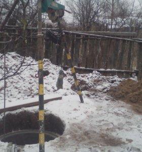 Копка колодцев в Ярославской области