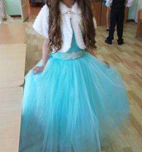 Шикарное платье с болеро.