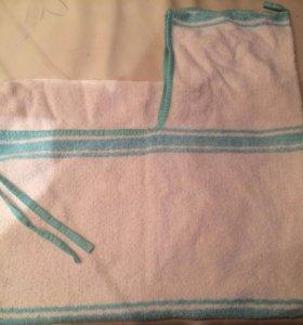 2шт банное полотенце для новорожденного