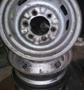 Диски Nissan R14