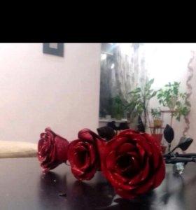 Роза. Металл