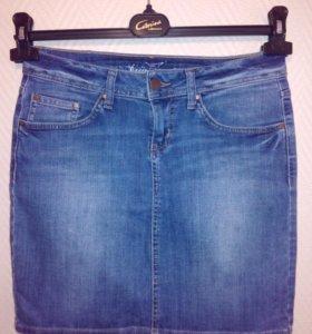 Джинсовые юбки недорого