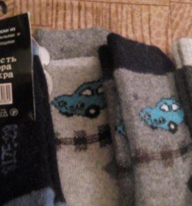Детские носки из ангорки