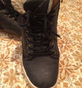 Ботинки на подростка.