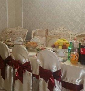 Прокат столы,стулья и посуда