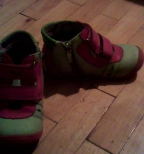 ботинки девочке бу