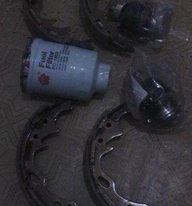Шаровые, колодки, топливный фильтр ниссан атлас