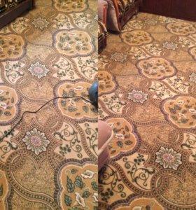 Профессиональная химчистка мягкой мебели,ковров