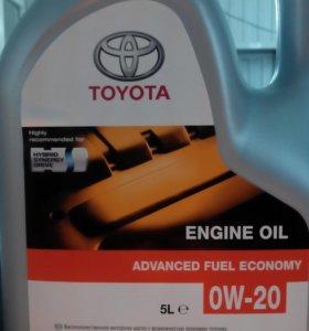 Масло 0W20 Toyota...