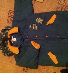 Демисизонная Куртка на девочку рост 122-128