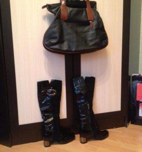 Сапоги+ сумка