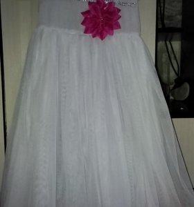 Праздничное платье рост на 130 см