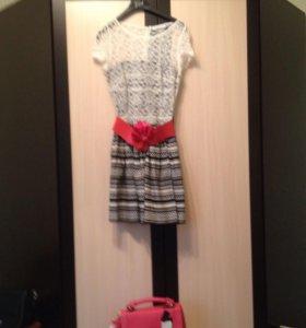 Платье+ сумка новая в подарок,