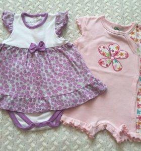 Летняя одежда на малышку