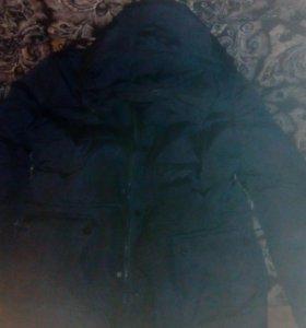 Куртка зимняя, почти новая.