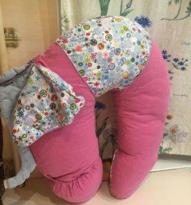Подушка для беременных, кормящих мамочек и малышей
