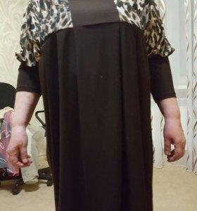 Блузка  размер 56 - 58. Для полных дам.