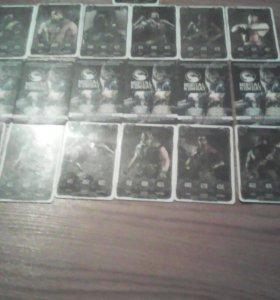Мортал комбат золотая колекция 19 карт