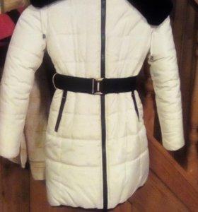 Зимнее детское пальто(рост 146)