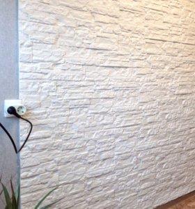 Декоративный камень сланец Рифейский ( белый)