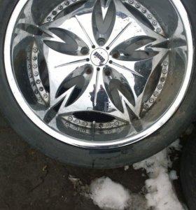 Комплект колес 22 радиус