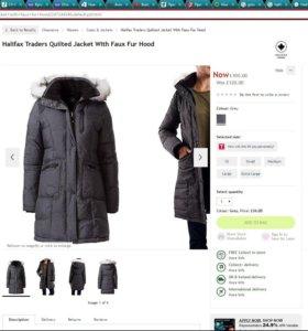 Куртка зимняя Hallifax