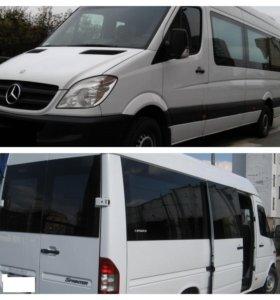 Заказ микроавтобуса Мерседес до 15 человек