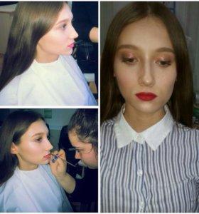 Причёски и макияж
