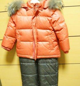 Зимний костюм для мальчика BabyGo