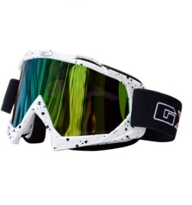 Очки GXT для мотокросса сноуборда снегохода белые