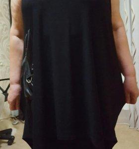 Блузка- платье для полных дам.