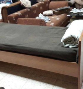 Кровать бу 190/80