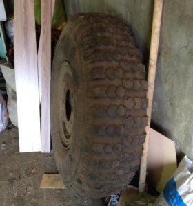 Колесо с диском от а/м или трактора