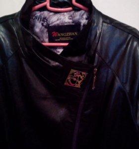 Куртка новая кожаная молодёжная