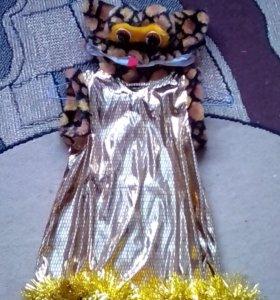 Новогодний костюм змейка