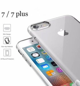 Силиконовый чехол на iPhone 7/7 plus