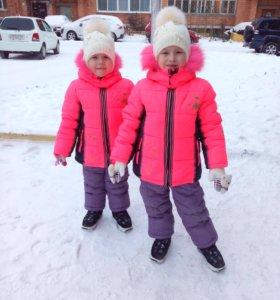Зимние куртки и штаны комбенз