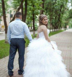 платье свадебное !!
