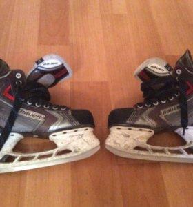 Коньки хоккейные) торг
