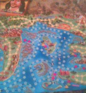 Карта карибских ператов настольная игра