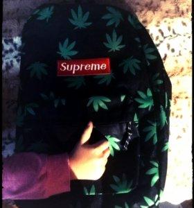 рюкзак листья